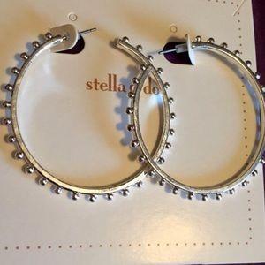 Stella & Dot Jewelry - ✨Stella & Dot Silver Isadora Hoops